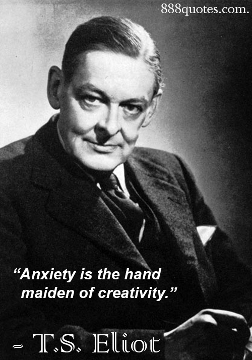t s eliot inward pain and outward The question of whether a poet shapes, or is shaped by the language he uses to create art is one which can be addressed from a structuralist viewpoint t s eliot saw his poetry not as the communication of ideas but as a means of emotional relief for the artist, a momentary release of psychological.
